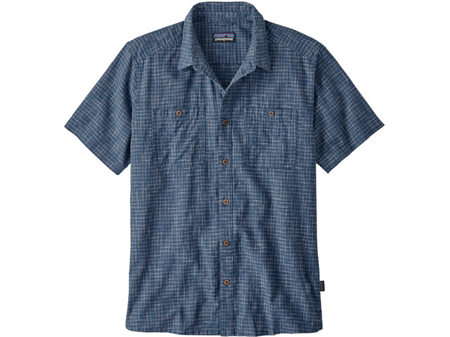Patagonia Back Step Maillot Hombre, trails/stone blue